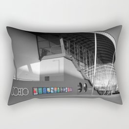 The Sage (Whats On) Rectangular Pillow