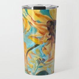 Wild Sunflower Travel Mug