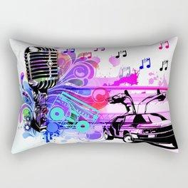 The Mic Rectangular Pillow