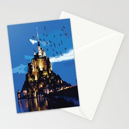 Mont Saint-Michel Stationery Cards
