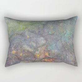 Flower Nebula Rectangular Pillow