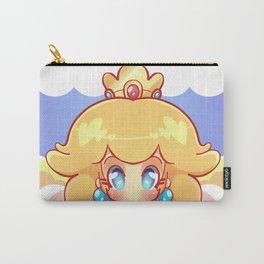 Princess Peach Badge Carry-All Pouch