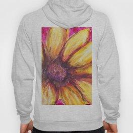 Cheery Yellow Flower Hoody
