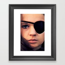 Thriller: A Cruel Picture Framed Art Print