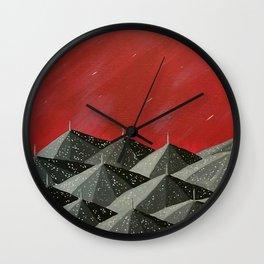 """New Orleans Umbrellas"" Wall Clock"