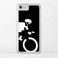 Cyclist Clear iPhone Case