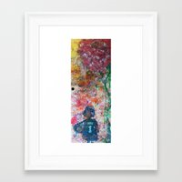 child Framed Art Prints featuring child by Jen Hynds