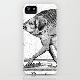 If fishes had legs iPhone Case