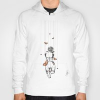 burlesque Hoodies featuring Burlesque by Libby Watkins Illustration
