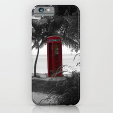 Why Do You Stay Here? iPhone 6 Slim Case