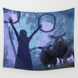 ACTIVATING MAGIC Wall Tapestry