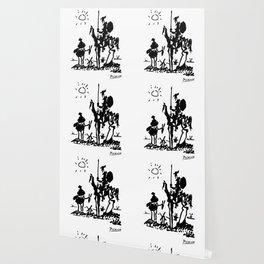 Pablo Picasso Don Quixote 1955 Artwork Shirt, Reproduction Wallpaper