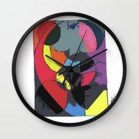 matrix Wall Clocks featuring Matrix by EllysWonders