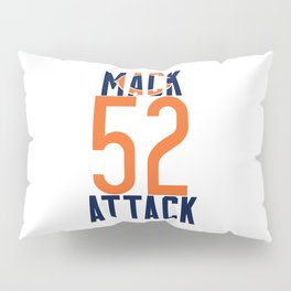 Khalil Mack 52 Bears Footbal Pillow Sham