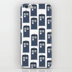 Doctor WHO Tardis Pattern iPhone & iPod Skin