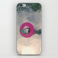 diver iPhone & iPod Skins featuring diver by signe constable