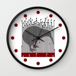 Kiwi in Rapou Wall Clock