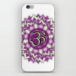 Crown Chakra iPhone Skin