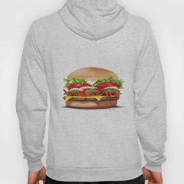 Bacon Cheeseburger by dana alfonso Hoody