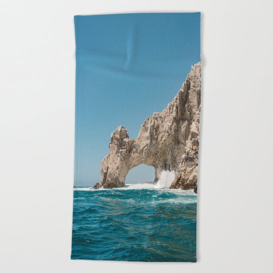 Arch of Cabo San Lucas Beach Towel