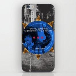 Lauryn Hill tribute  iPhone Skin