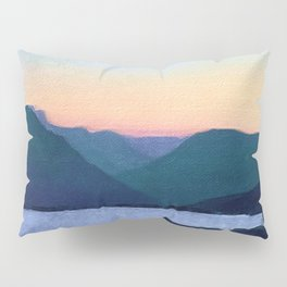 Obertalbach, Sustenpass, Swiss alps Pillow Sham
