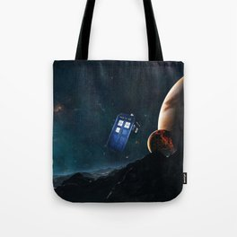 tardis doctor who Tote Bag