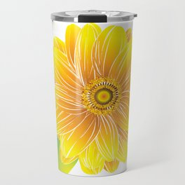 Helianthus - The Color of Vitality, Intelligence and Happiness Travel Mug