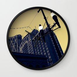 Vintage Downtown Wall Clock