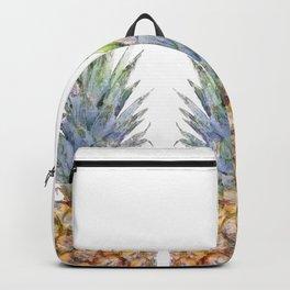 Watercolor Sketch Pineapple Trio Backpack