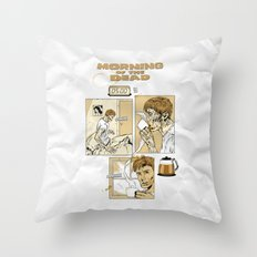 Morning of the Dead Throw Pillow