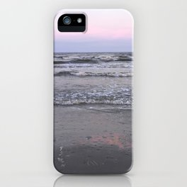 pink as the seafoam iPhone Case