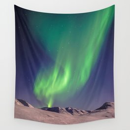 The Northern Lights (Aurora Borealis) Wall Tapestry