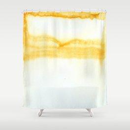 Tangerine Daydream Shower Curtain