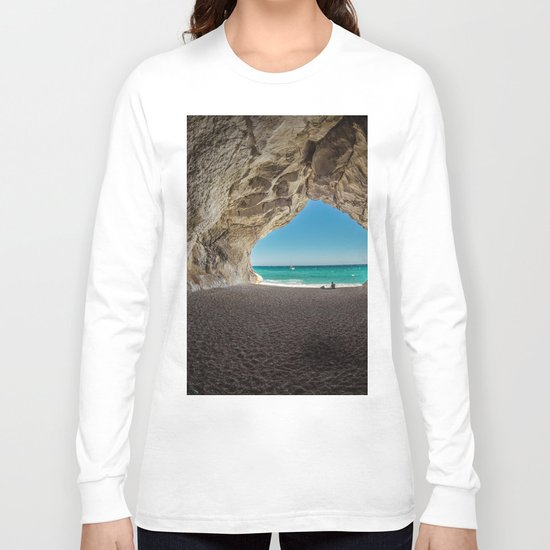 What Lies on the Other Side (Beach) Long Sleeve T-shirt