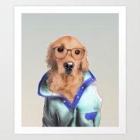 Hey Buddy Art Print