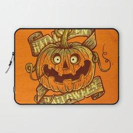 Halloween orange Laptop Sleeve