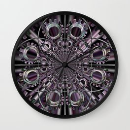 ENGRENAGES Wall Clock