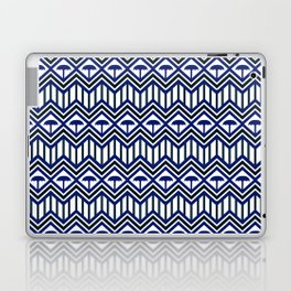 Blue Umbrella Geometry Laptop & iPad Skin