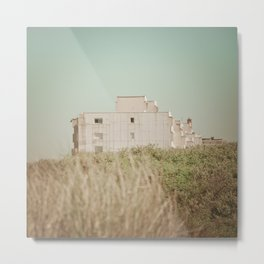 Beach dune miniature 3 Metal Print