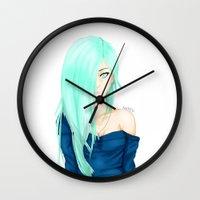 marina Wall Clocks featuring Marina by KittiKat15