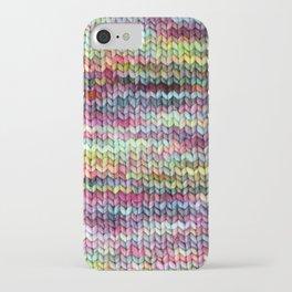 Knit Print iPhone Case