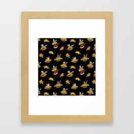 I Can Haz Cheeseburger Spaceships? Framed Art Print