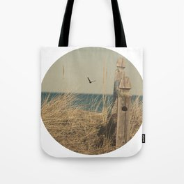 Paradise New England Beach Ocean Seaside Neutral Photography Fine Art Prints New  Tote Bag
