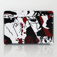 manga iPad Cases featuring Grafitti Manga by Fine2art