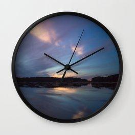 Just before the night arrives Wall Clock