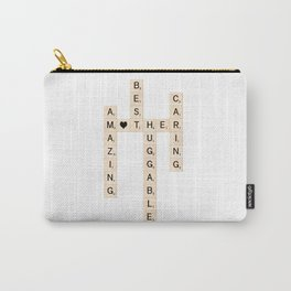MOTHER's Day Scrabble Art Gift Carry-All Pouch
