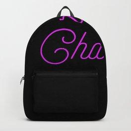 Charlotte Girl Name Backpack