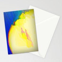 frozen yogurt Stationery Cards