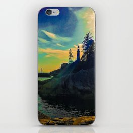 Lighthouse dreaming iPhone Skin